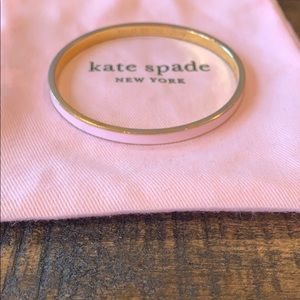 Kate Spade Toast Of The Town Bangle (light pink)